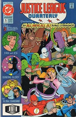 DC COMICS -  JUSTICE LEAGUE QUARTERLY - Winter 1991  Issue No. 5