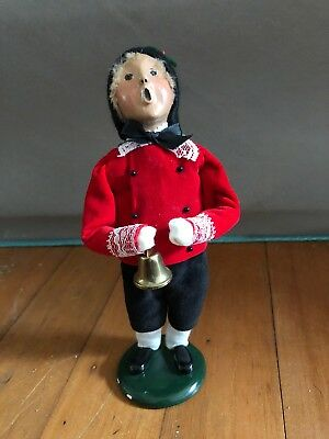 Byers Choice Ltd. The Carolers 1994 Boy With Bell