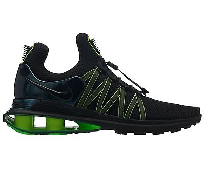 Nike Shox Gravity Mens AR1999-003 Black Gorge Green Lime Running Shoes Size  12 fb60ecee5