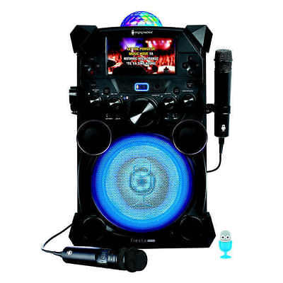 Singing Machine Fiesta Voice Portable Karaoke System (SDL9040) * FAST SHIP *