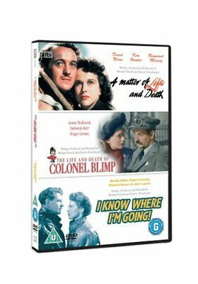 Matter Of Life And Deathi Know Where Im Going Dvd New Region 2