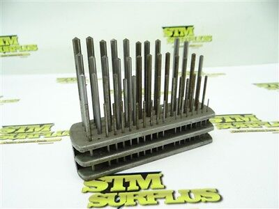 Nice Set Of Hss Drill Blanks Number Size Range 1-60 Usa! Partial