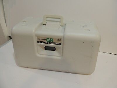 Risograph GR Series Riso green  Color Drum   Ink Drum W/ Case UNTESTED