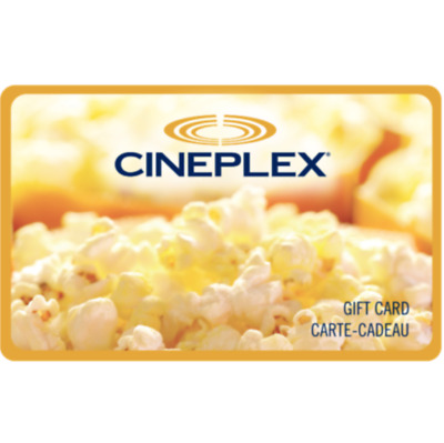 Buy $5 Cineplex Gift Card - Email Delivery