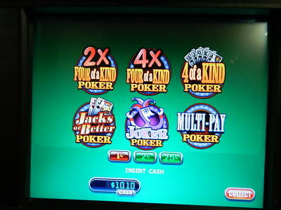 MULTI GAME POKER Software for WMS Bluebird BB1 BB-1 Slot Machine