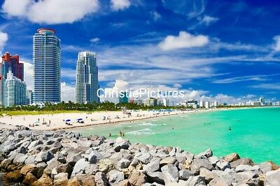 Art Digital Picture Image Photo Wallpaper JPG. SOUTH BEACH  ChristiePictures