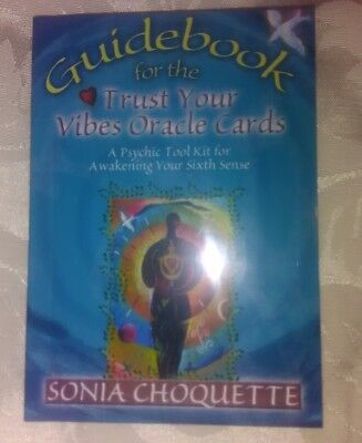 Trust Your Vibes Oracle Cards 52 Cards With Guide Book