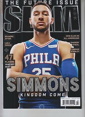 c8fb1018e513 BEN SIMMONS THE Future Issue Slam Magazine July August 2018 No Label ...