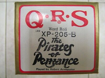 QRS Piano Music Roll #XP-205-B The Pirates of Penzance