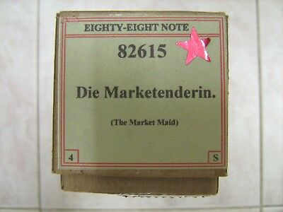88-Note Piano Music Roll #82615 Die Marketenderin (The Market Maid)