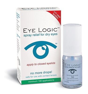 Eye Logic Lipid Layer Spray For Dry Eye ( 2 x 10ml ) formerly Clarymist