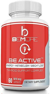 BE ACTIVE | Thyroid Supplement | The ONLY Thyroid Support Complex that Weight +