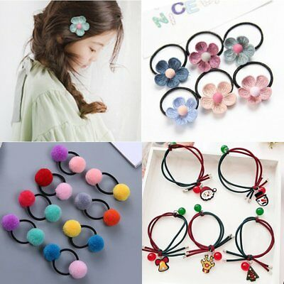 Fashion Christmas Children Hair Band Flowers Bulb Headwear Knot Headband Jewelry