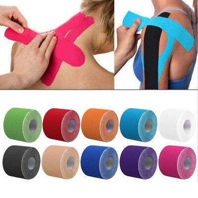 5CMx5M Kinesiology Tape Sports Elastic Muscle Strapping Tennis Running Protector
