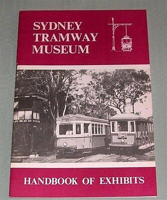 Sydney Tramway Museum, Handbook of Exhibits, SPER, NSW, SC book