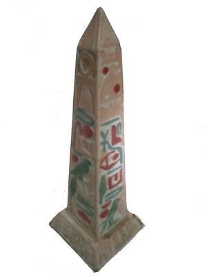 ANCIENT EGYPTIAN BEAUTIFUL ANTIQUE Ancient Egyptian oblisk 1804 Bc