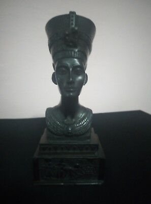 ANCIENT EGYPTIAN ANTIQUE EGYPT Statue Queen Nefertiti Figurine Bc