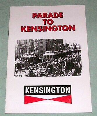 Parade to Kensington tram line, by N Smith, Sth Aust, SC book