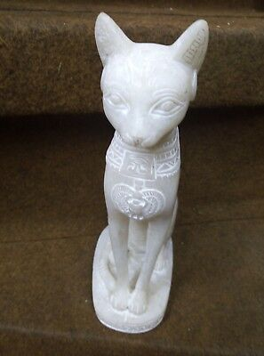 ANCIENT EGYPTIAN ANTIQUE STATUE Of Figurine Egypt Cat Goddess Bast-Bastet 600 Bc