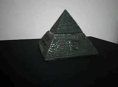 RARE ANTIQUE ANCIENT EGYPTIAN Statue stone healing black pyramid 2611 BC