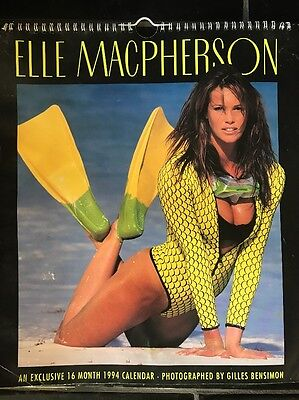 ELLE MACPHERSON 1994 CALENDAR * rare and collectable