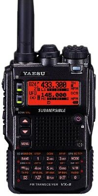 *** Yaesu VX-8R Transceiver with Lots of Accessories! ***