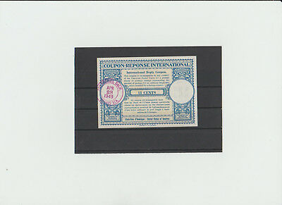 coupon reponse USA  11 cent mit Stempel 28.April 49 (used)