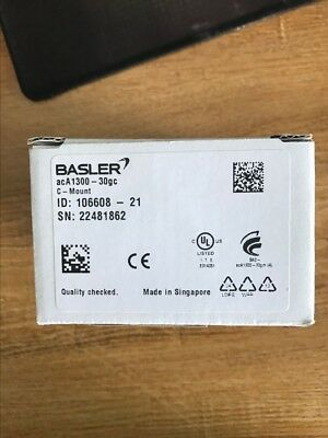 1 pc new Basler acA1300-30gc 1.3 megapixel GIGE Gigabit CCD industrial camera