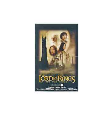 LOTR Lord of the Rings Two Towers Japanese HOBBY trading Card Box