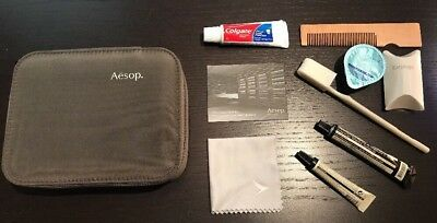 NEW Cathay Pacific First Class AESOP MALE Amenity Kit
