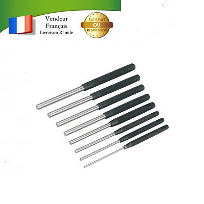 Silverline- Jeu De 8 Chasse-Goupilles 2.4 to 9.5 Mm Bricolage Outils à Main Neuf