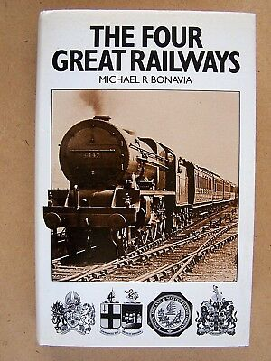 """the Four Great Railways."" Early British Trains Book."