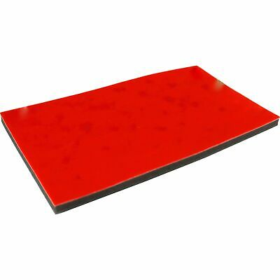 "Red 72 Slot Ring Jewelry Display Pad Travel Insert 14 1/4"" x 7 3/4"""
