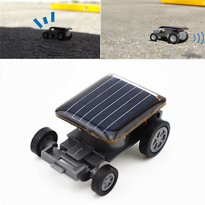 Solar Powered Robot Racing Car Vehicle Educational Gadget Kids Gift Toy New Mini