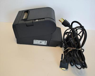 Epson TM-T88III M129C POS Thermal Receipt Printer works w/power supply & cable