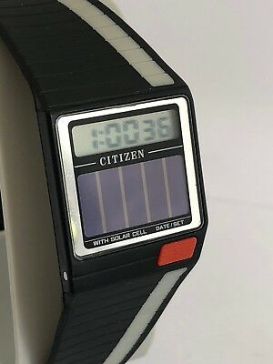 Citizen D080 Solar Cell  Watch Uhr New Old Stock Vintage Retro Reloj Ct821 De