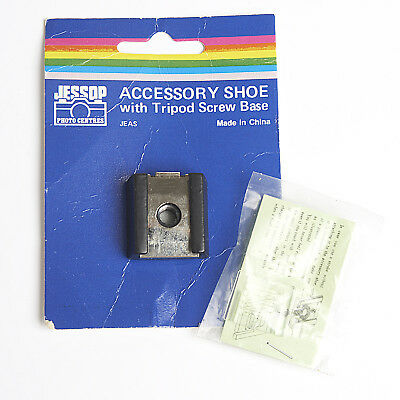 Flash Accessory Shoe With Tripod Screw Base And Hotshoe Protection Plate