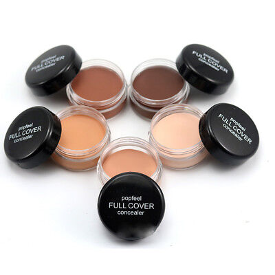 Foundation Cream Face Concealer Primer Invisible Makeup Cover Pore Wrinkle Base