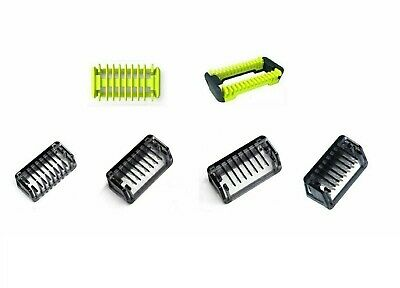 Comb 1 2 3 5mm Trimmer Clipper Body Skin For Philips OneBlade One Blade Shaver