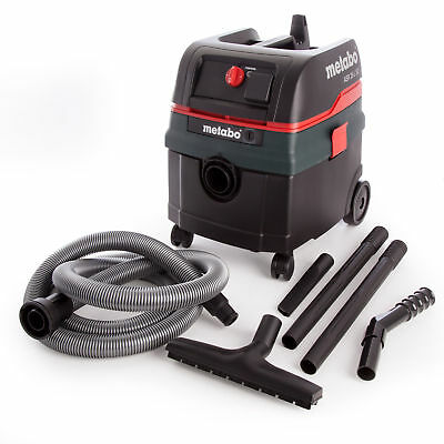 Metabo ASR25LSC All-Purpose Vacuum Cleaner 110V with Electromagnetic Shaking ...