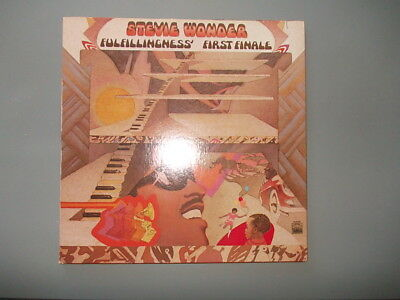 LP Vinyl  Stevie Wonder fulfillingness first finale tamla motown 1974 US
