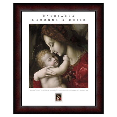 USPS New Madonna and Child by Bachiacca Framed Art