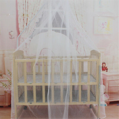 Baby Bed Mosquito Net Mesh Dome Curtain Net for Toddler Crib Cot Canopy QZ