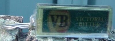 VB Victoria Bitter Led Keyring Flashes VB as per Scan on. off & back shown 3 sca