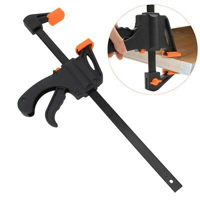 Quick Fast Woodworking Clip Wooden Board Tool Spreader Squeeze Work Bar Clamp