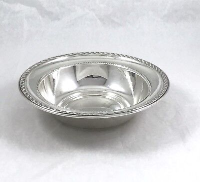 Sterling Silver Bowl By Alvin