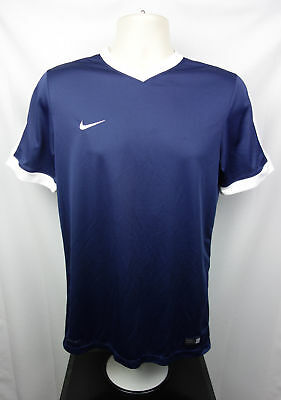 0babfa47 Nike Team Mens M Athletic Tee Shirt V-Neck Dri-Fit Embroidered Chest Swoosh
