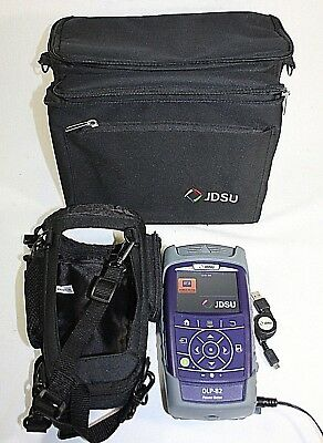 JDSU OLP-82 Power Meter with Cases and AC adapter JDS Uniphase Fiber Optics Test