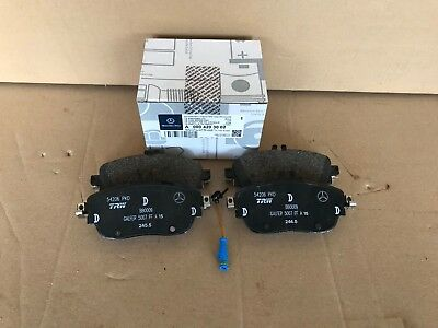 Mercedes Benz W176/W246 A-Class/ B-Class Front Brake Pads And Sensor