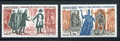 Andorra- French 159-160 Mint Never Hinged (Nh)